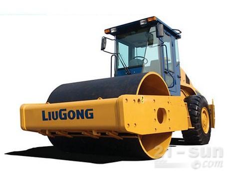 柳工CLG620单钢轮压路机