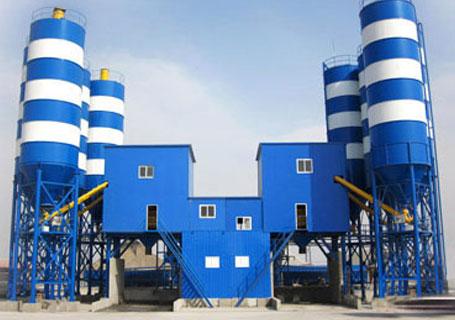三驾机械HZS60商品混凝土搅拌站图片