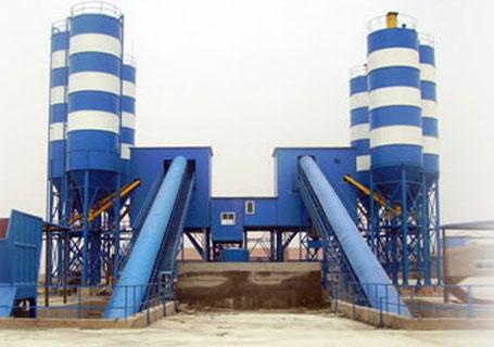 三驾机械HZS90(HZS75)商品混凝土搅拌站图片