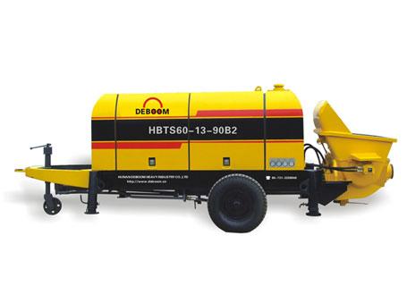 润邦机械HBTS60. 13.90 AS系列电动机混凝土输送泵图片
