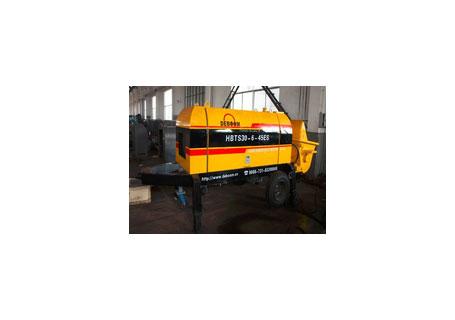 润邦机械HBTS50B-13-82R2小颗粒混凝土柴油泵图片