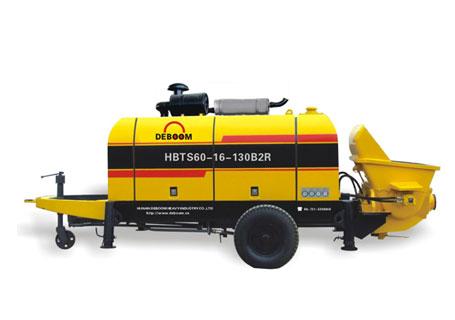 润邦机械HBTS50.13.82B2RS系列柴油机混凝土输送泵