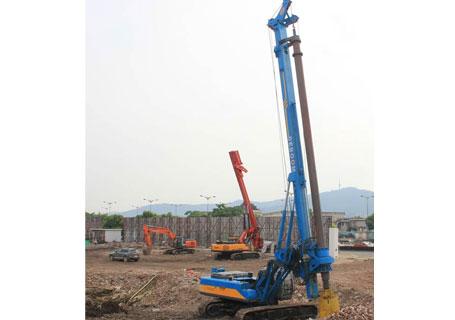 润邦机械DBR系列大口径旋挖钻机图片