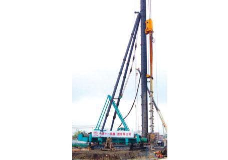 润邦机械SMW工法桩机图片