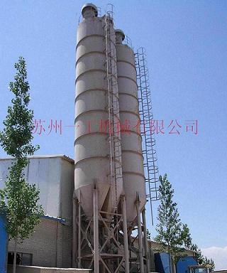 一工机械塔楼型干混砂浆生产线