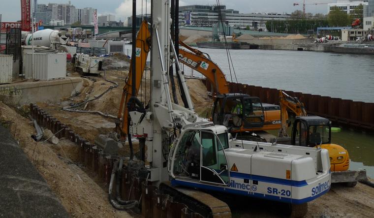 土力机械SR-20大口径旋挖桩图片
