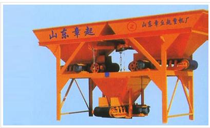 山东明龙JS500强制式混凝土搅拌机图片