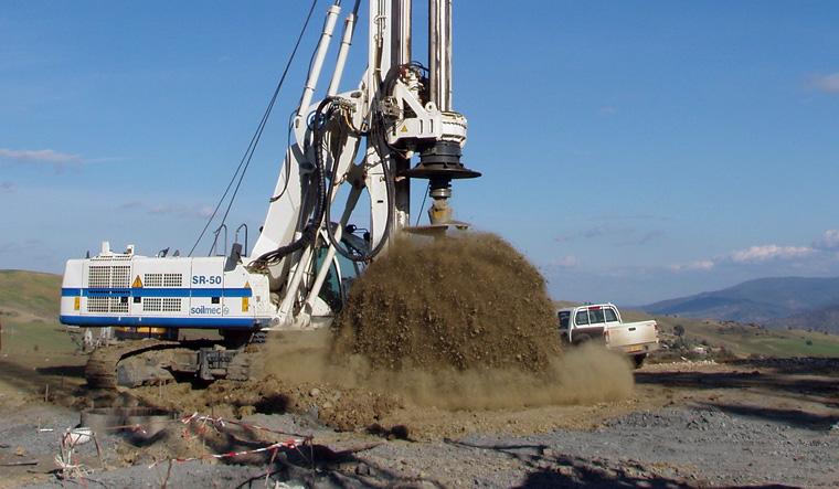 土力机械SR-50大口径旋挖桩