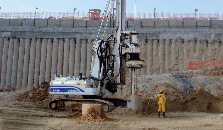 土力机械SR-60大口径旋挖桩图片
