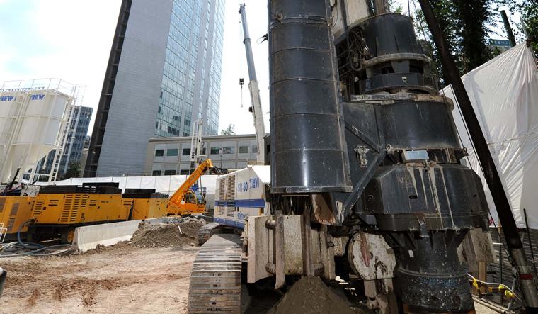 土力机械SR-80大口径旋挖桩图片
