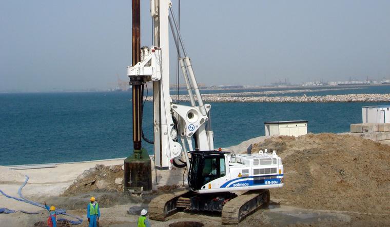 土力机械SR-80C大口径旋挖桩