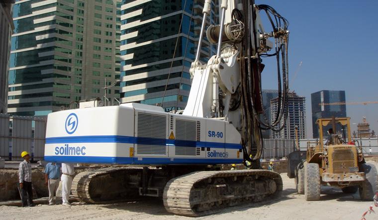 土力机械SR-90大口径旋挖桩图片
