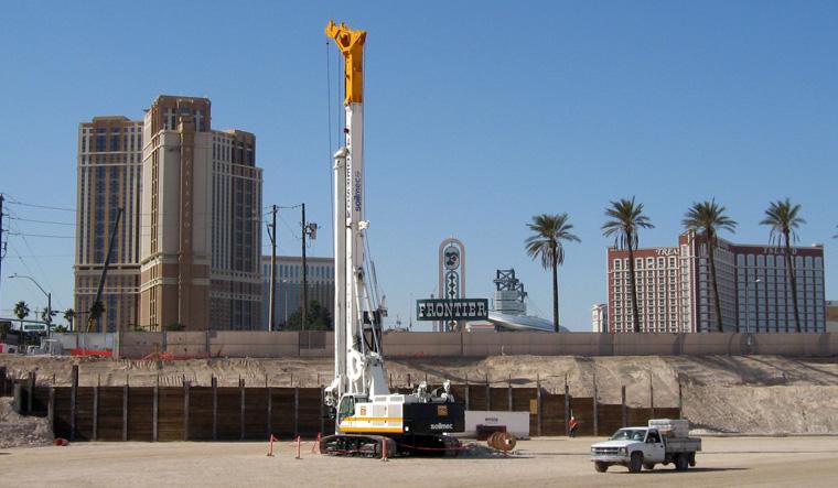 土力机械SR-100大口径旋挖桩