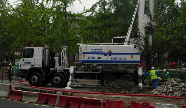 土力机械STM-20大口径旋挖桩