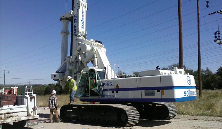土力机械SR-65 LHR大口径旋挖桩图片