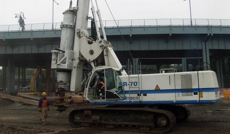 土力机械SR-70 LHR大口径旋挖桩