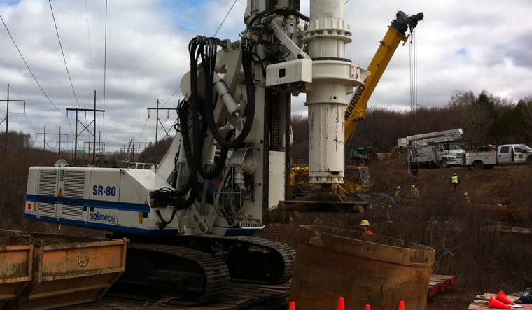 土力机械SR-80 LHR大口径旋挖桩图片