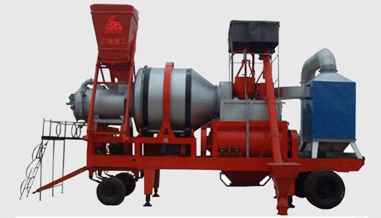 三隆重工QLB型沥青混凝土搅拌设备(强制型)