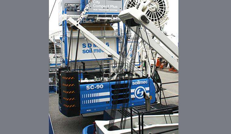 土力机械SC-90 HD履带式起重机