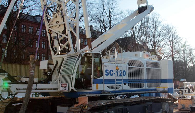 土力机械SC-120 HD履带式起重机