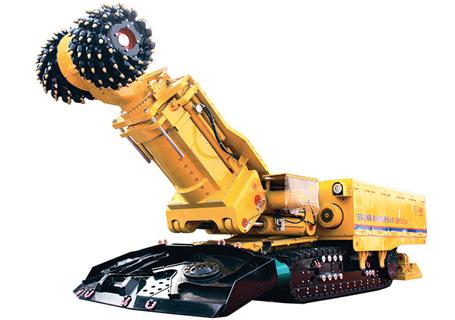 冀中能源EBH300(A)岩石掘进机图片
