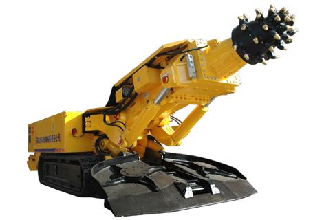 冀中能源EBZ160(A)硬岩掘进机图片