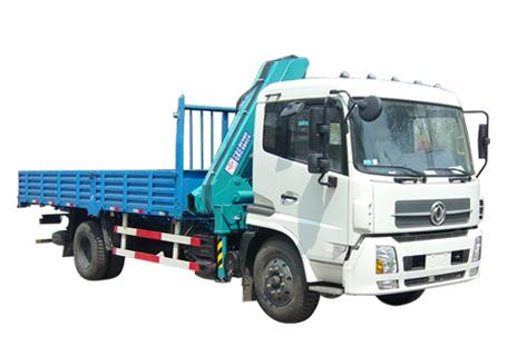 石煤QYS-6.3ZⅡ折臂式随车起重机图片