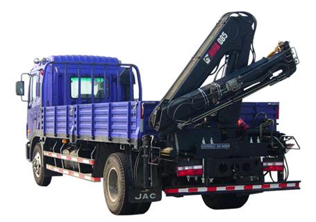 石煤QYS-3.2ZⅡ折臂式随车起重机