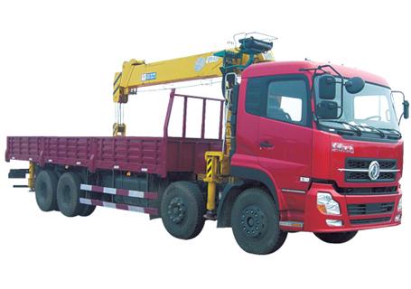 石煤QYS-12ⅢA直臂起重机图片
