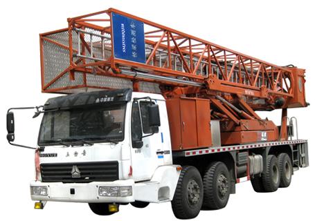 冀中能源SMJ5310JQJ18桥梁检测车
