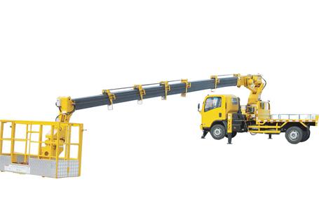 石煤SMJ5080JGKQ25/2825/28米伸缩臂高空作业车图片