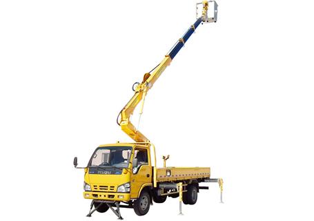 石煤SMJ5051JGKQ1818米伸缩臂高空作业车