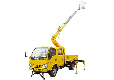 石煤SMJ5050JGKQ1515米伸缩臂高空作业车
