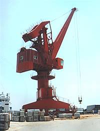 惠山MQ1633门座式起重机