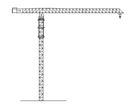 中升QTZ120(ZSC120)平臂塔式起重机