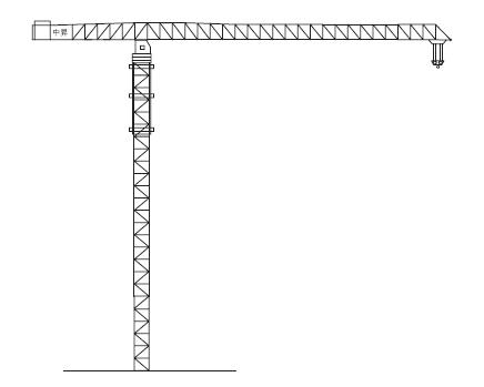 中升QTZ800(ZSC800)水平塔式起重机