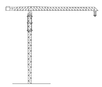 中升QTZ1000(ZSC1000)平臂塔式起重机