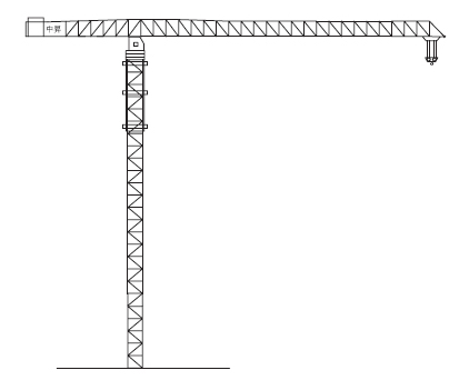 中升QTZ1400(ZSC1400)平臂塔式起重机