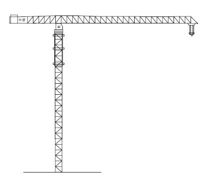 中升QTZ2000(ZSC2000B)平臂塔式起重机