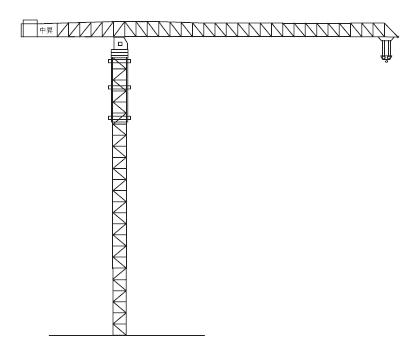 中升QTZ2600(ZSC2600)平臂塔式起重机