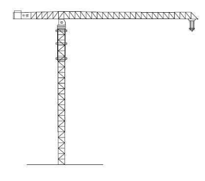 中升QTZ2800(ZSC2800A)平臂塔式起重机