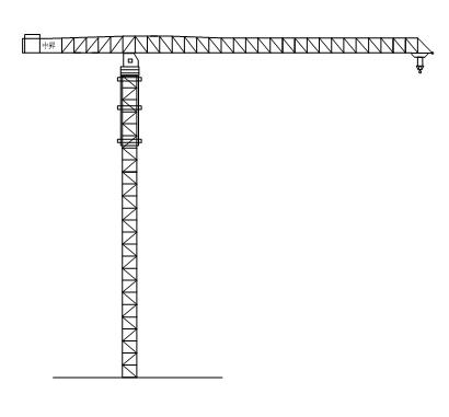 中升QTZ3600(ZSC3600)水平塔式起重机