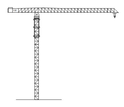 中升QTZ5200(ZSC5200)水平塔式起重机