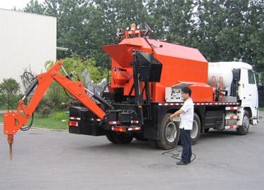 英达TM500-BR-TRK快速加热多功能养护车