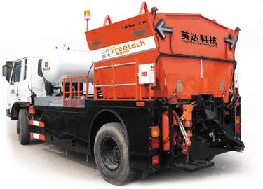 英达TM400-TRK沥青路面综合修补车