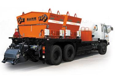 英达TM640-ML-TRK双级配料仓铣刨修补车