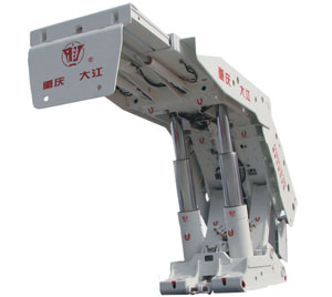 大江信达ZY8800/18/38D掩护式液压支架