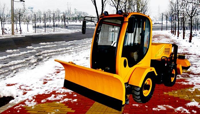 暴风雪RX-1500A人行道除冰雪机