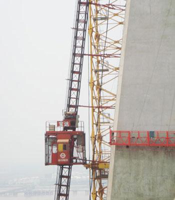 宝达SCQ倾斜式系列施工升降机图片