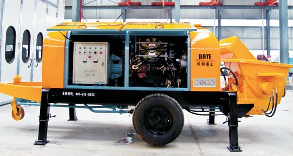 波特重工HBTS电机系列(川崎油泵)拖泵